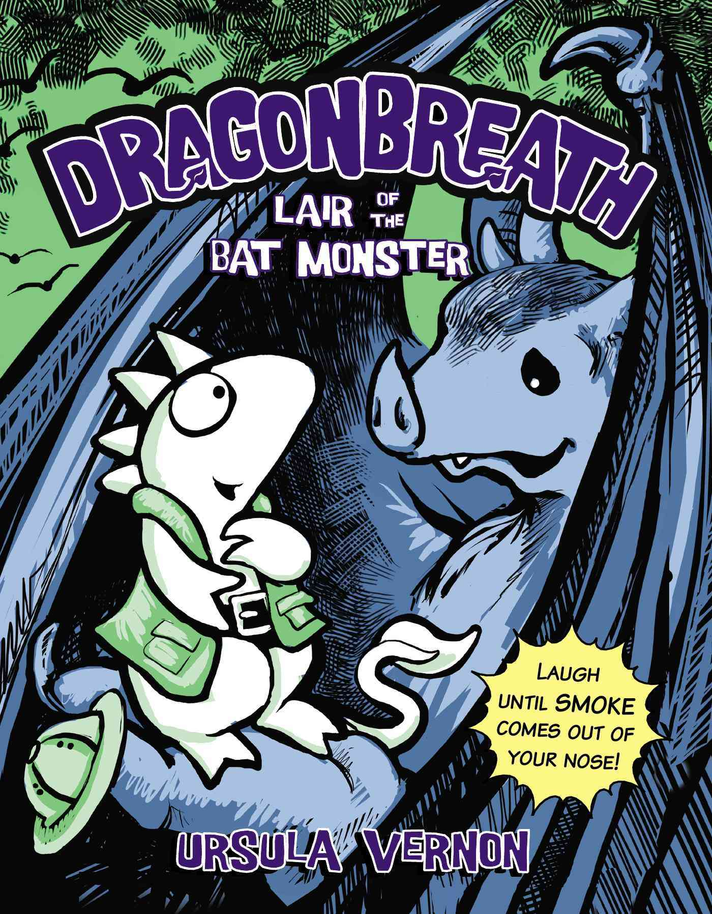 Lair of the Bat Monster By Vernon, Ursula