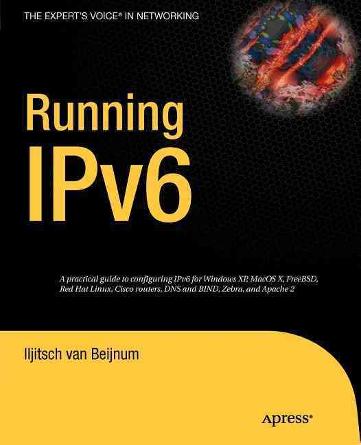 Running Ipv6 By Van Beijnum, Iljitsch